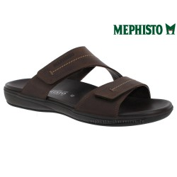 Méphisto tong homme Chez www.mephisto-chaussures.fr Mephisto STAN Marron cuir mule