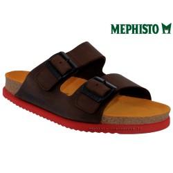 Méphisto tong homme Chez www.mephisto-chaussures.fr Mephisto CEDAR Marron cuir mule