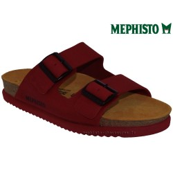Méphisto tong homme Chez www.mephisto-chaussures.fr Mephisto CEDAR Rouge cuir mule