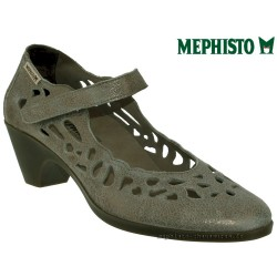 Marque Mephisto Mephisto MACARIA Taupe cuir mary-jane