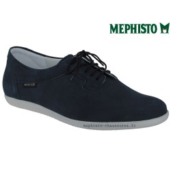 Mephisto Chaussure Mephisto KAROLE Marine nubuck lacets