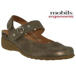 Sandale Méphisto Mobils SORGIA PERF Taupe cuir sandale