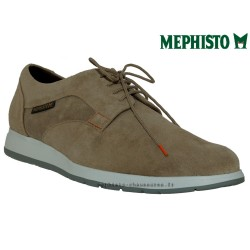 Mephisto Homme: Chez Mephisto pour homme exceptionnel Mephisto VALERIO Beige velours lacets