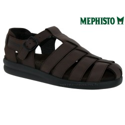 Mephisto Chaussures Mephisto SAM BRUSH Marron cuir sandale