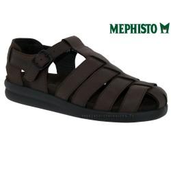 mephisto-chaussures.fr livre à Ploufragan Mephisto SAM BRUSH Marron cuir sandale