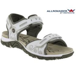 mephisto-chaussures.fr livre à Saint-Martin-Boulogne Allrounder LAGOONA Blanc cuir sandale
