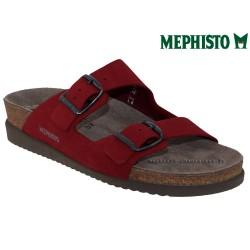 Méphisto tong femme Chez www.mephisto-chaussures.fr Mephisto HARMONY Rouge nubuck mule