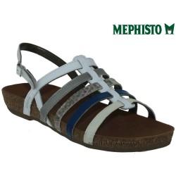 Sandale femme Méphisto Chez www.mephisto-chaussures.fr Mephisto VERONA Blanc multi verni sandale