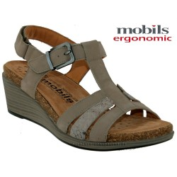 Mephisto femme Chez www.mephisto-chaussures.fr Mobils WAINY Gris nubuck sandale