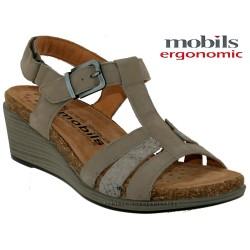Sandale femme Méphisto Chez www.mephisto-chaussures.fr Mobils WAINY Gris nubuck sandale