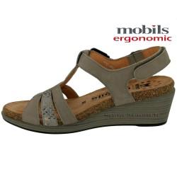 WAINY Gris nubuck 40(fr) sandale