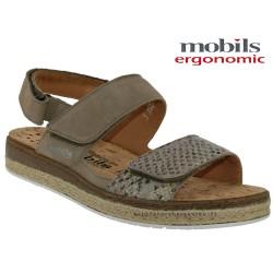 Sandale Méphisto Mobils ALYSEE Beige nubuck sandale
