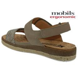 ALYSEE Beige nubuck 40(fr) sandale