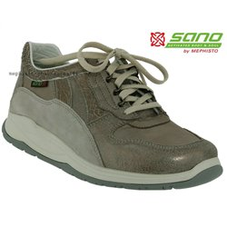 Mephisto lacet femme Chez www.mephisto-chaussures.fr Sano SWING Taupe cuir lacets