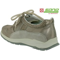 SWING Taupe cuir 6.5(eur) 40(fr) lacets