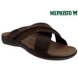 Méphisto tong homme Chez www.mephisto-chaussures.fr Mephisto SAXO Marron cuir mule