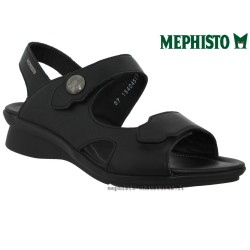 SANDALE FEMME MEPHISTO Chez www.mephisto-chaussures.fr Mephisto PRUDY Noir cuir sandale