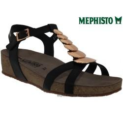 femme mephisto Chez www.mephisto-chaussures.fr Mephisto IRMA Noir cuir sandale