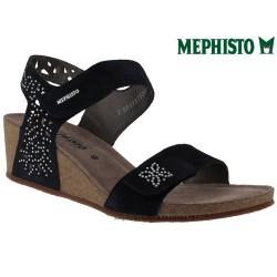 Sandale femme Méphisto Chez www.mephisto-chaussures.fr Mephisto MARIE SPARK Velours marine sandale