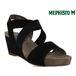 femme mephisto Chez www.mephisto-chaussures.fr Mephisto BARBARA Noir nubuck sandale