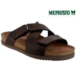 Méphisto tong homme Chez www.mephisto-chaussures.fr Mephisto NADEO Marron cuir mule
