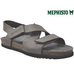 mephisto-chaussures.fr livre à Paris Lyon Marseille Mephisto NADEK Gris cuir nu-pied