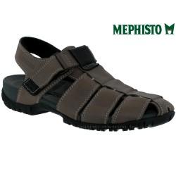 mephisto-chaussures.fr livre à Paris Lyon Marseille Mephisto BASILE Gris cuir sandale