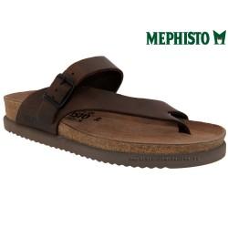mephisto-chaussures.fr livre à Paris Mephisto NIELS marron cuir tong