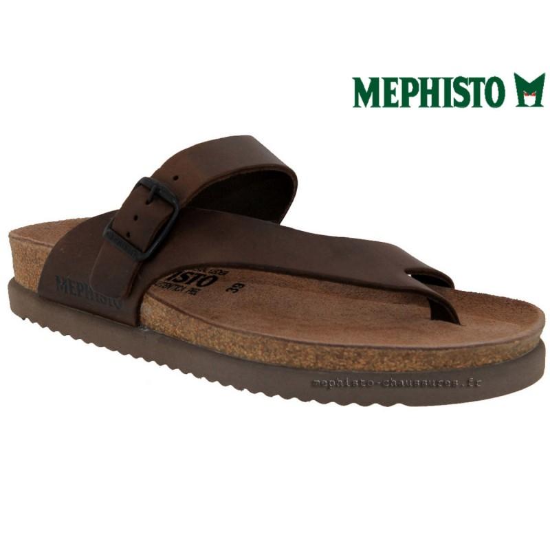 1c78e2d0131991 Mephisto NIELS marron cuir Tong Pointure 46