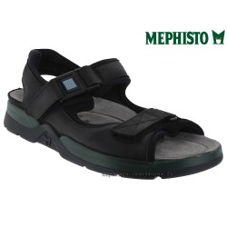 mephisto-chaussures.fr livre à Blois Mephisto ATLAS Noir cuir sandale