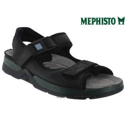 mephisto-chaussures.fr livre à Paris Lyon Marseille Mephisto ATLAS Noir cuir sandale