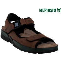 mephisto-chaussures.fr livre à Paris Mephisto ATLAS Marron cuir sandale
