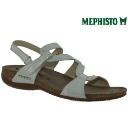 Sandale femme Méphisto Chez www.mephisto-chaussures.fr Mephisto ADELIE Blanc brillant sandale