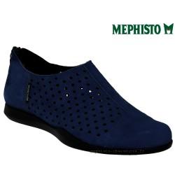 femme mephisto Chez www.mephisto-chaussures.fr Mephisto CLEMENCE Bleu nubuck ballerine