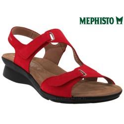 femme mephisto Chez www.mephisto-chaussures.fr Mephisto PARIS Rouge nubuck sandale