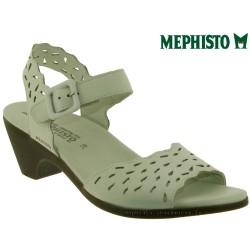 Sandale femme Méphisto Chez www.mephisto-chaussures.fr Mephisto CALISTA PERF Blanc cuir sandale