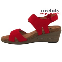 distributeurs mephisto, WILLOW, Rouge nubuck chez www.mephisto-chaussures.fr (36164)