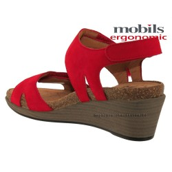 distributeurs mephisto, WILLOW, Rouge nubuck chez www.mephisto-chaussures.fr (36165)
