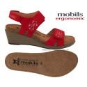 WILLOW Rouge nubuck 38(fr) sandale