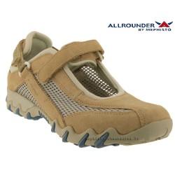 Mephisto Chaussures Allrounder NIRO FILET Beige nubuck basket_mode_basse