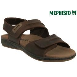 mephisto-chaussures.fr livre à Paris Mephisto SAGUN Marron cuir sandale
