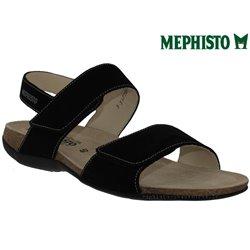 Sandale femme Méphisto Chez www.mephisto-chaussures.fr Mephisto AGAVE Noir nubuck sandale