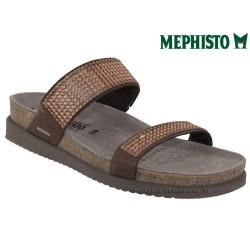 Méphisto tong femme Chez www.mephisto-chaussures.fr Mephisto HAVILA Marron nubuck mule