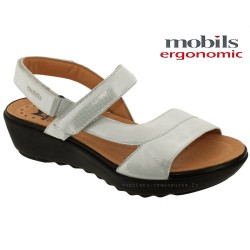 Chaussures femme Mephisto Chez www.mephisto-chaussures.fr Mobils FRANCA Blanc cuir sandale