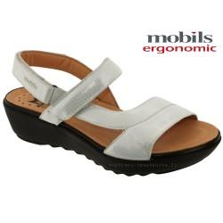 Sandale femme Méphisto Chez www.mephisto-chaussures.fr Mobils FRANCA Blanc cuir sandale