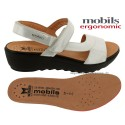 FRANCA Blanc cuir 39(fr) sandale
