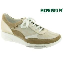 Mephisto femme Chez www.mephisto-chaussures.fr Mephisto DIANE Beige cuir lacets