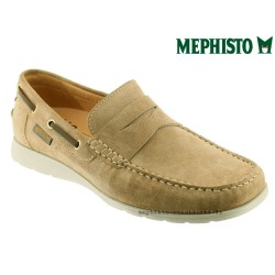 Mephisto Homme: Chez Mephisto pour homme exceptionnel Mephisto GINO Beige velours mocassin