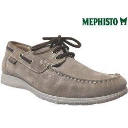 Mephisto Homme: Chez Mephisto pour homme exceptionnel Mephisto GIACOMO Beige velours bateau