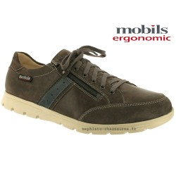 mephisto-chaussures.fr livre à Montpellier Mobils KRISTOF Gris cuir lacets